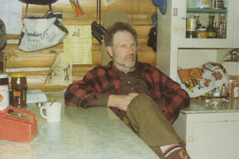 Hap Bowden - founder of Cariboo Mtn. Outfitters - 1970